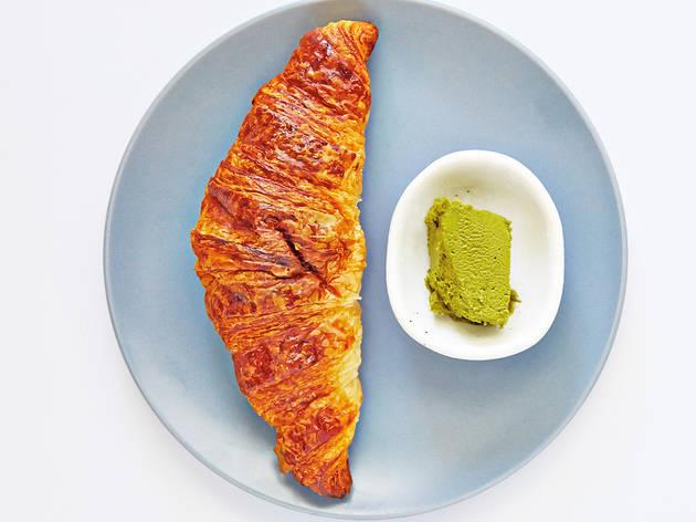 Green tea butter