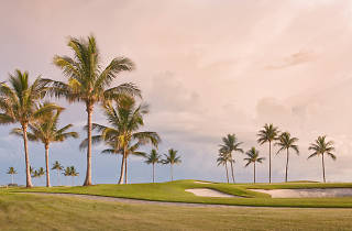 Golf course in Miami
