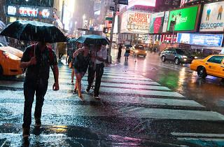 Times Square Super Storm