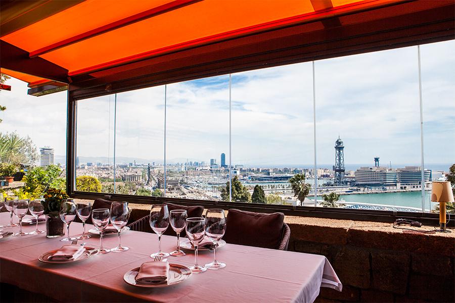 Restaurants de Barcelona amb vistes espectaculars
