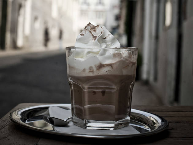 Chocolate quente do Kaffeehaus