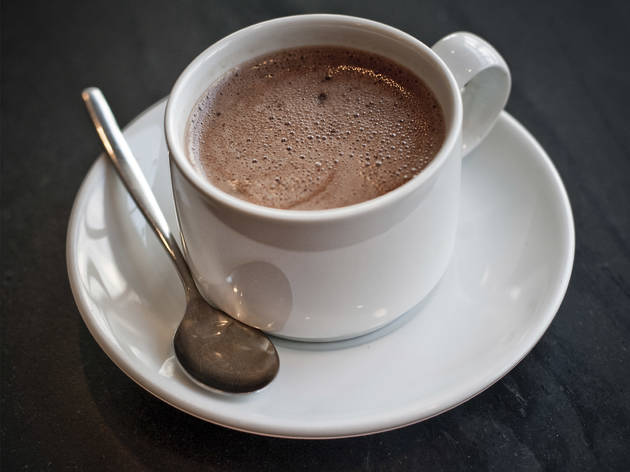 Chocolate quente do Delidelux