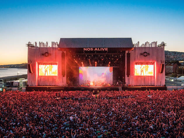 Red Hot Chili Peppers confirmados no NOS Alive'21