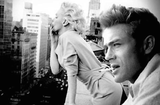 Marylin i James Dean amb photoshop