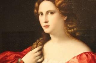 """Retrato de una mujer joven llamada """"la Bella"""""""