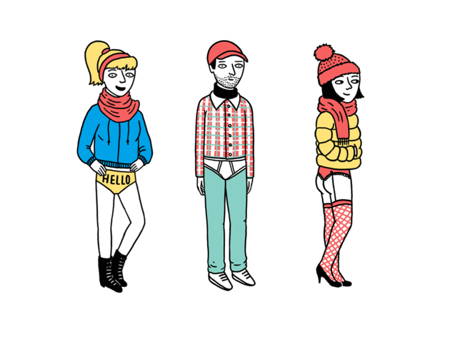 The five types of New Yorkers you'll see during the No Pants Subway Ride