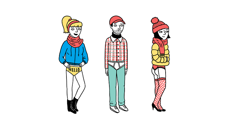 The five types of New Yorkers you'll see during the No Pants Subway Ride; issue 1078; 1078; No Pants Subway Ride