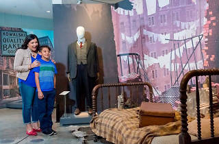 The Harry Potter and Fantastic Beasts exhibit