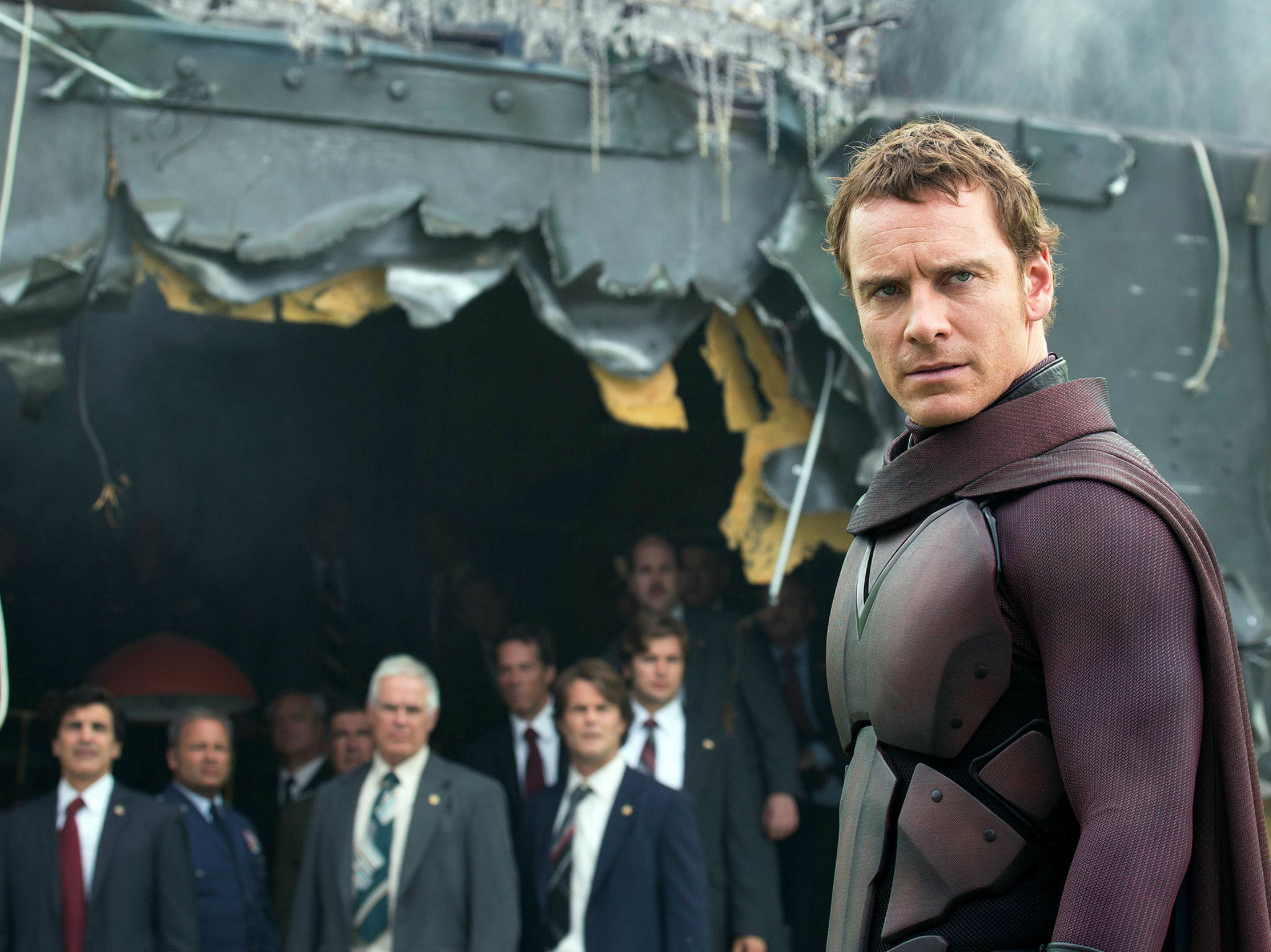 Michael Fassbender en X-Men
