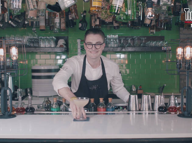 DIY cocktails by Tippling Club's head bartender Joe Schofield