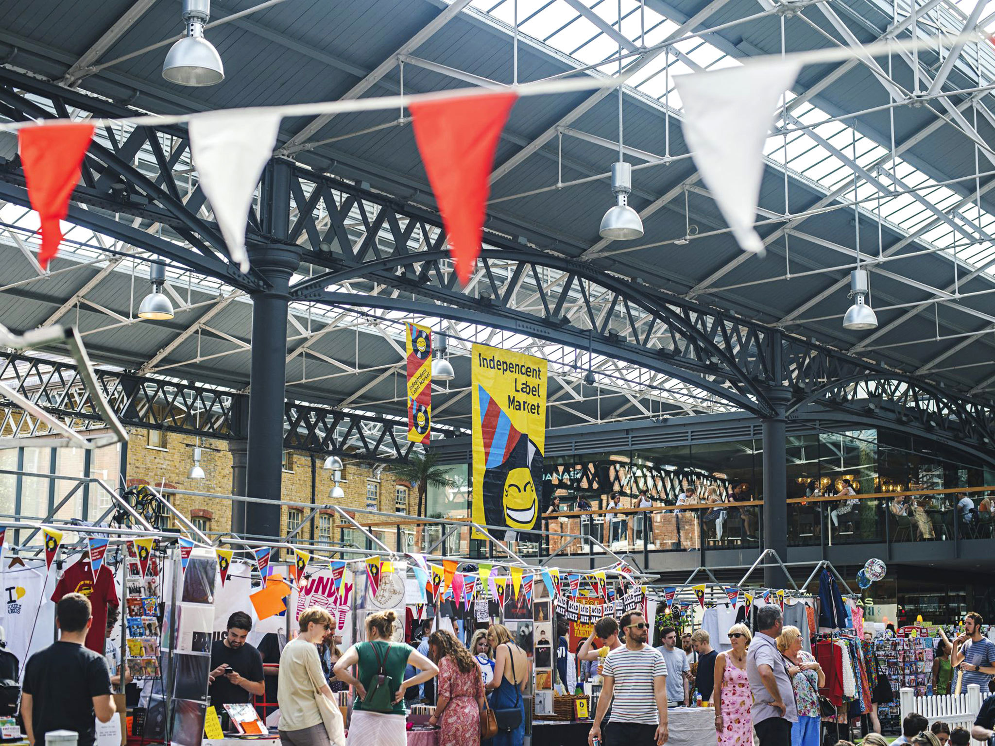 Independent Label Market at Old Spitalfields Market