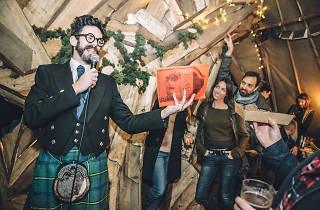 Burns Night at The Queen of Hoxton
