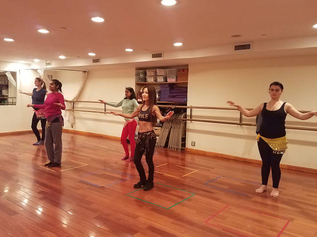 Open Level Bellydance at Bellydance with Salit