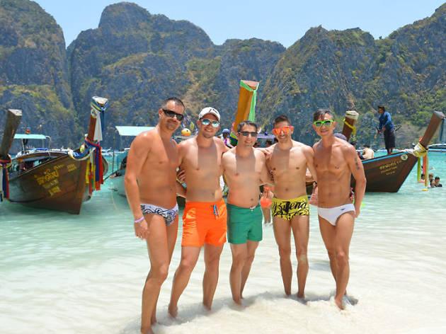 TropOut Beach, na Tailândia