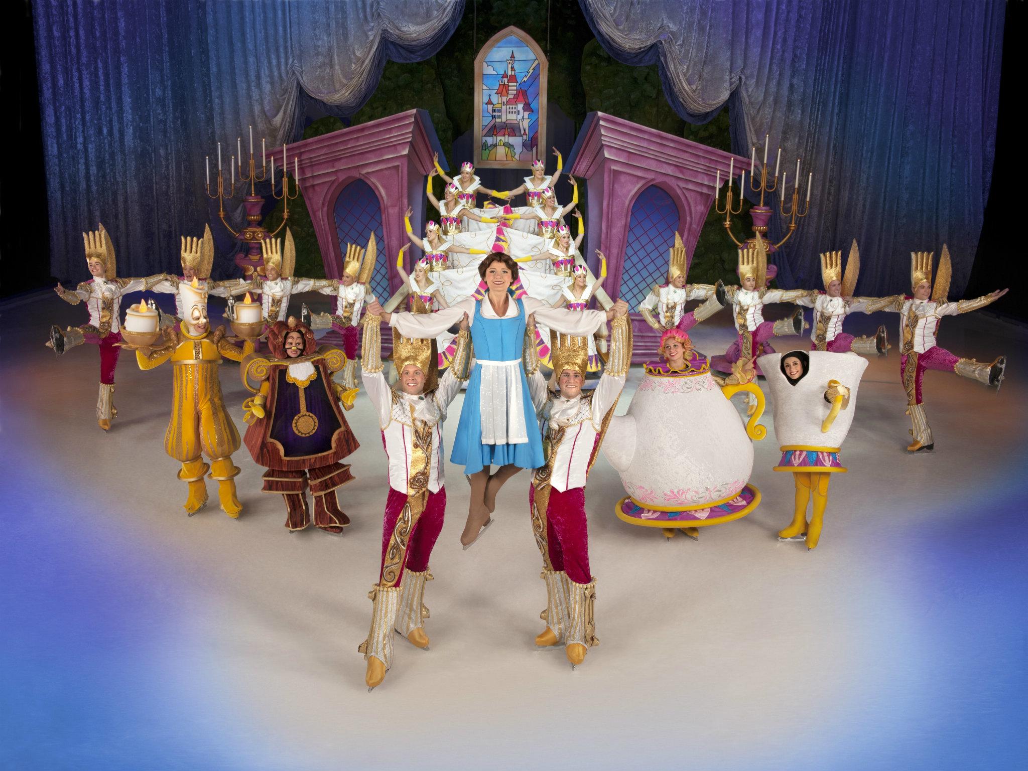 Festival mágico sobre hielo