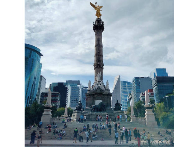 Ángel de la Independencia en Instagram