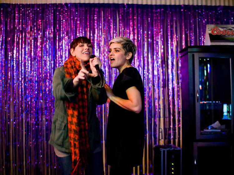 Belt out your favorite karaoke jams