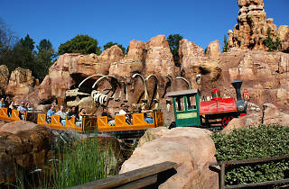Big Thunder Mountain Railroad, Disneyland