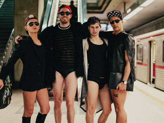 No Pants Metro Ride 2017 (Photograph: Rozette Rago)
