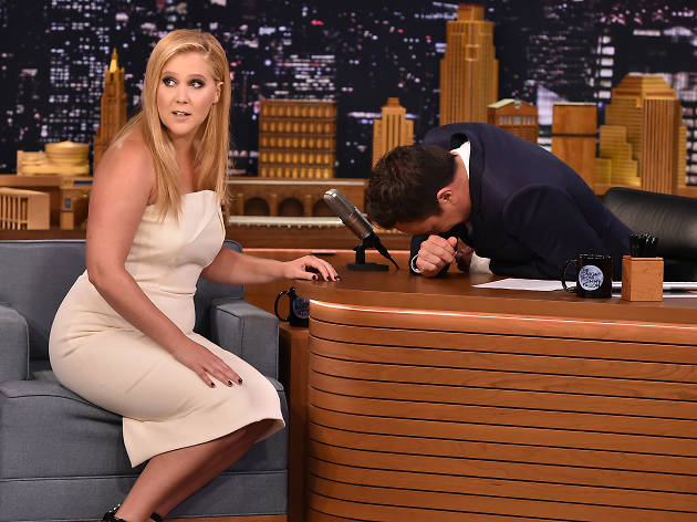 Amy Schumer with Jimmy