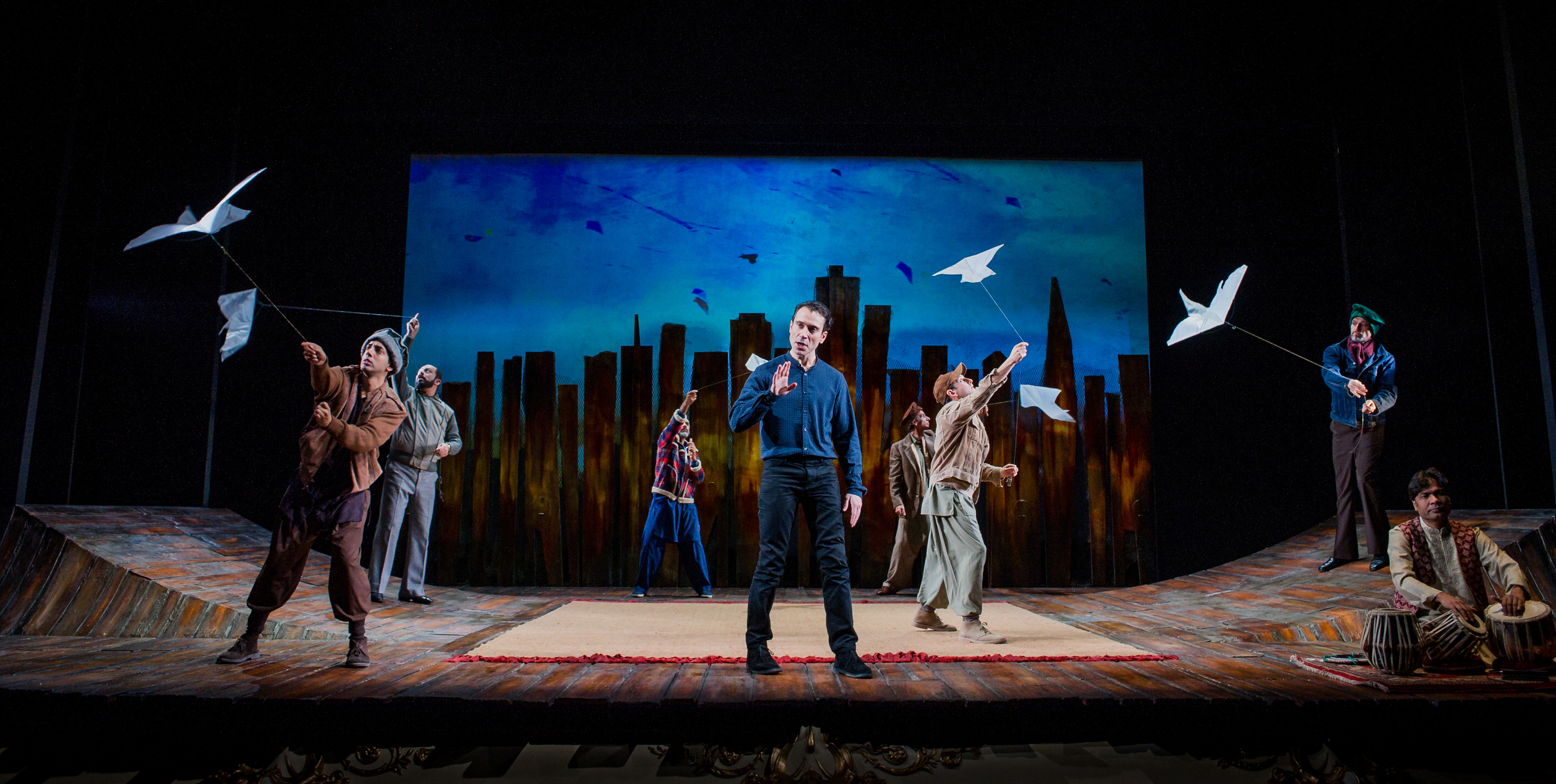 the kite runner playhouse theatre theatre in london