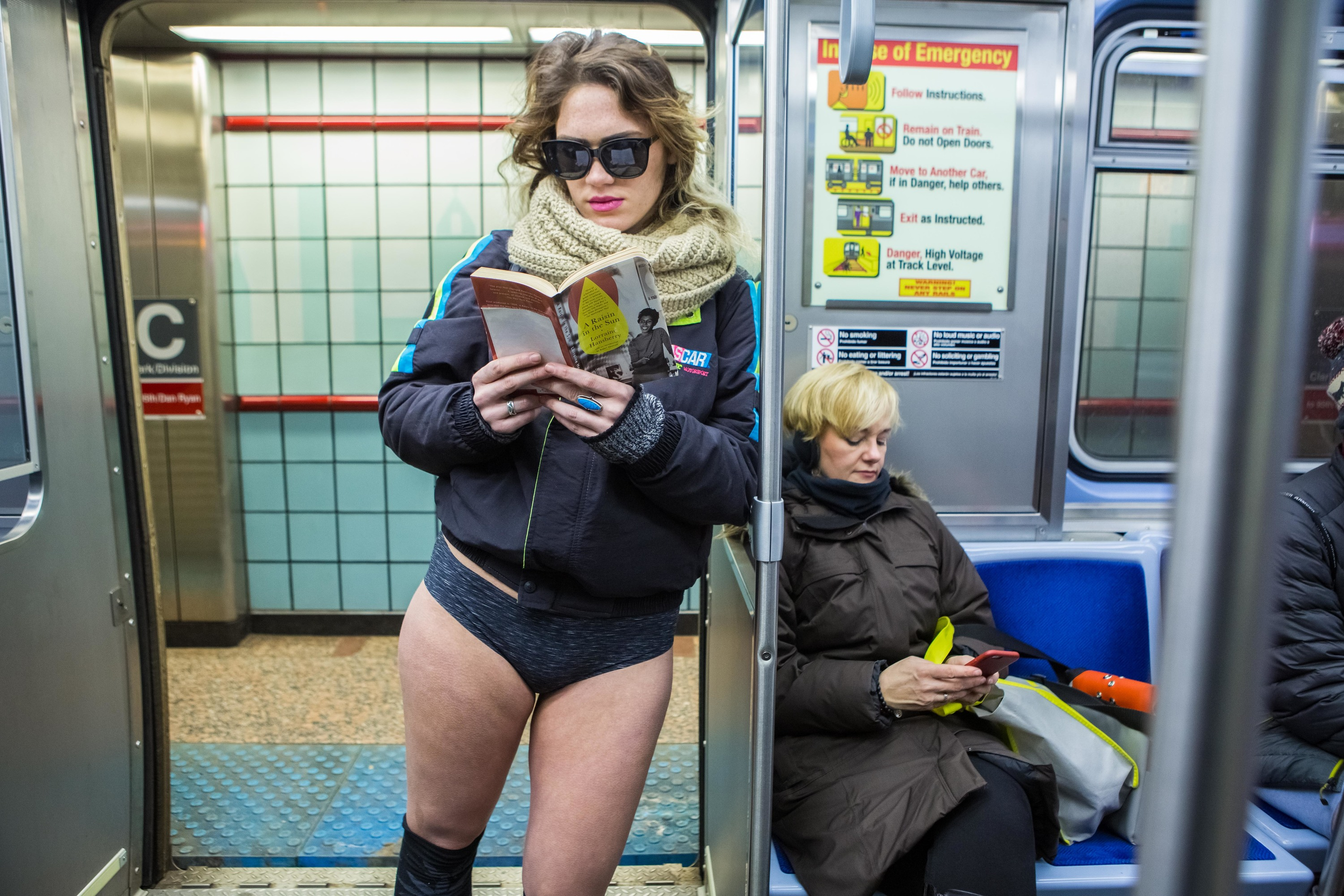 2017 No Pants Subway Ride