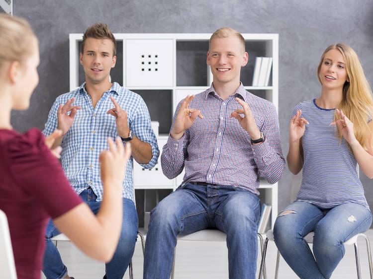 Sign Language Center