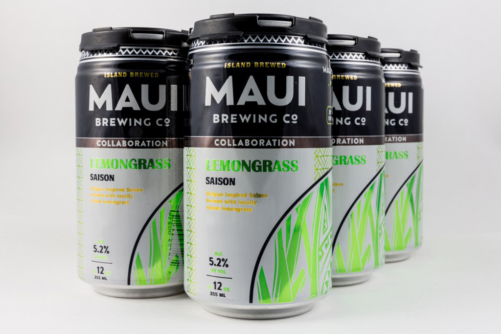 Lemongrass Saison, Maui Brewing Company and Lost Abbey