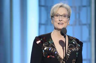 Meryl Streep nos Globos de Ouro 2017