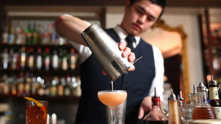 The Everleigh bartender