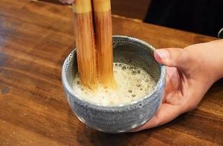 茶の風習「バタバタ茶」