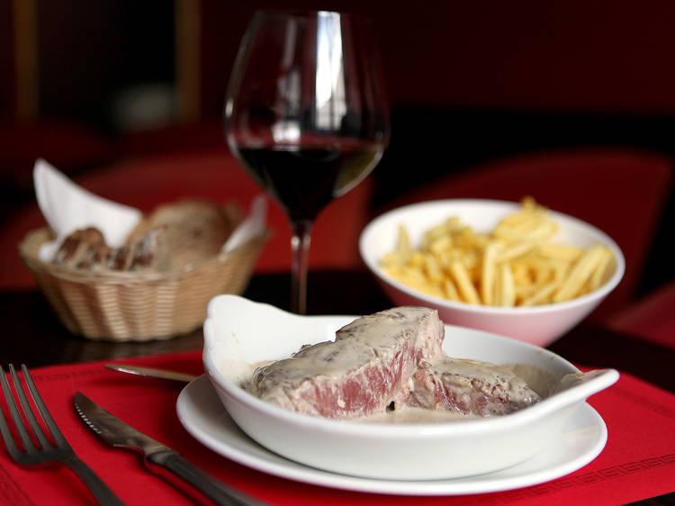 Sirloin steak - Café de São Bento