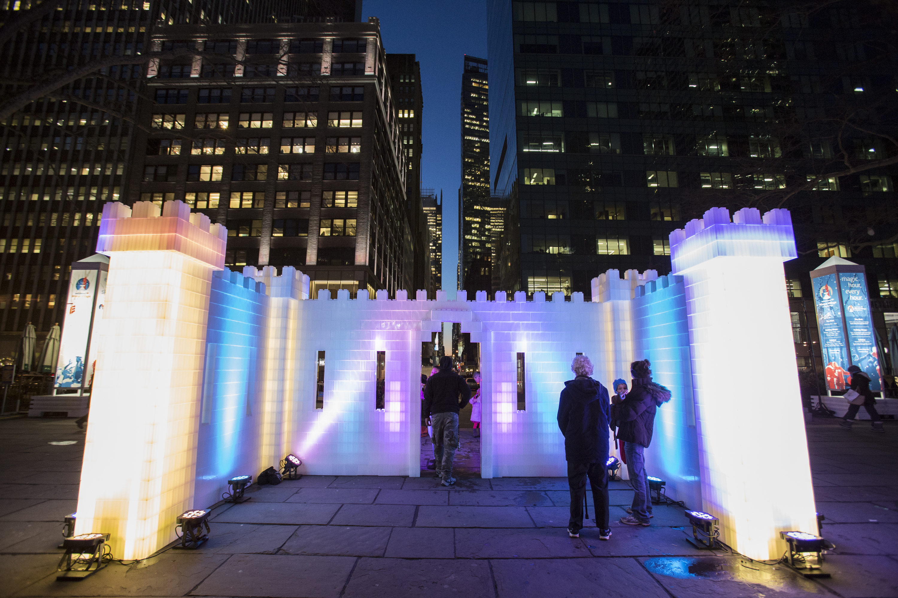 There will be an ice castle and so much more at Bryant Park's Winter Carnival