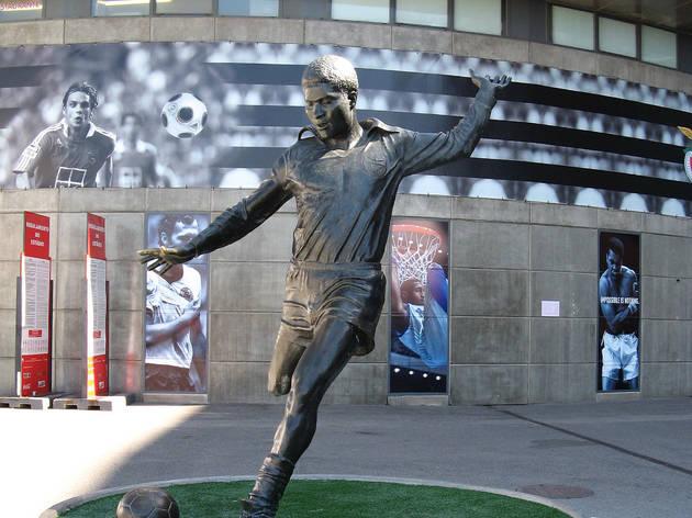 Eusébio – Estádio do SLB