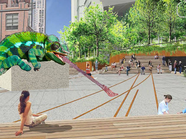 The High Line announces a new, high-profile showcase for public art called the Plinth