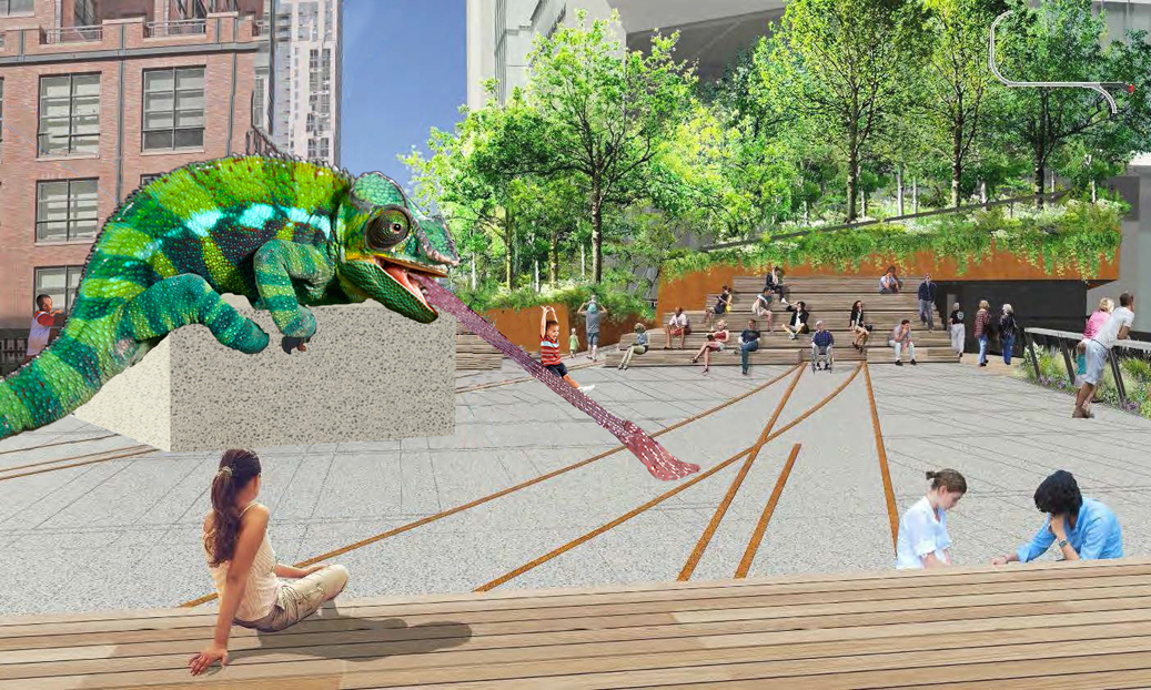 The High Line has a new showcase for public art