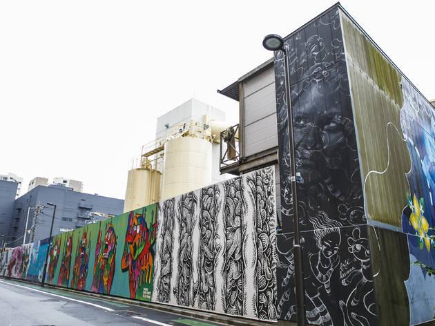 tennozu isle mural