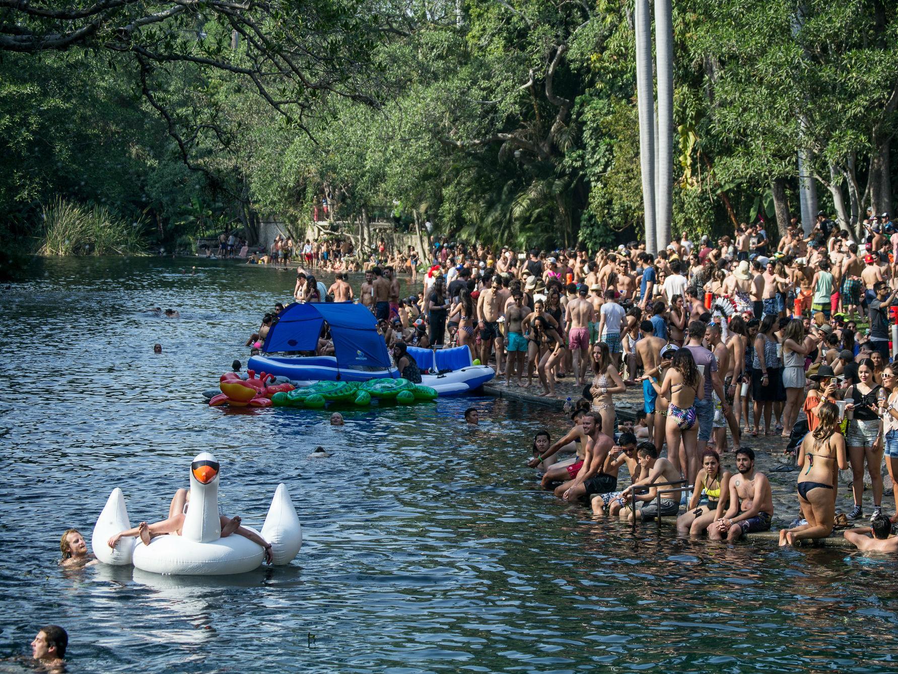 Actividades en el río