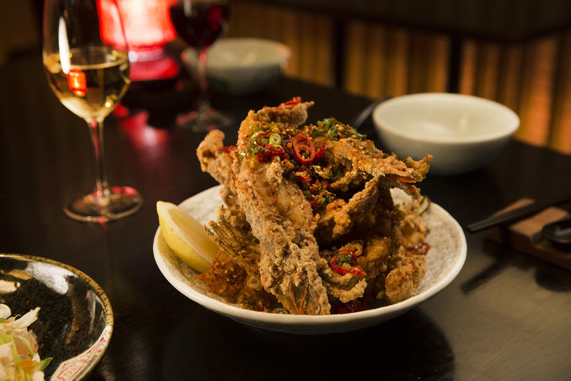 Spice Temple moreton bay bug dish
