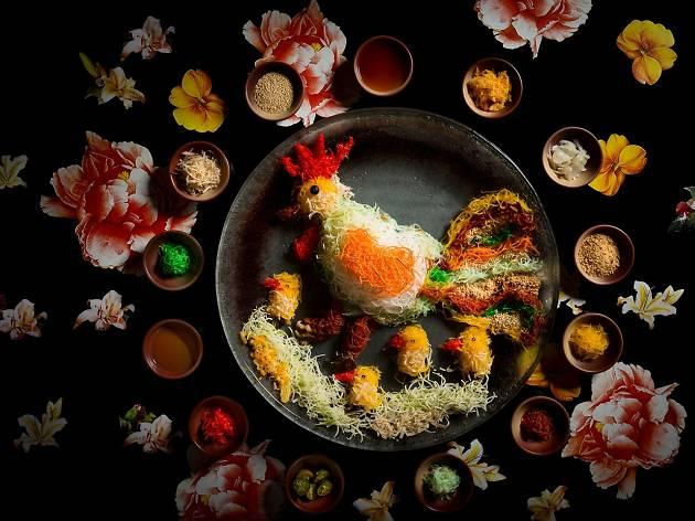 Six CNY menus