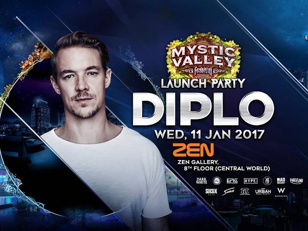 Diplo at Mystic Valley Launch Party