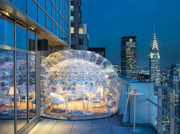 Rooftop Bubble Bar Bar 54