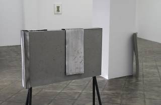 Vista de l'exposició Christoph Weber: On Fold, 2017