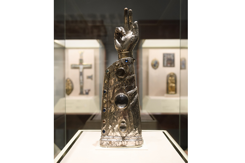 Reliquary in the Shape of an Arm, North French, circa 1200–1250
