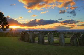 Sunset over Australian Botanic Gardens