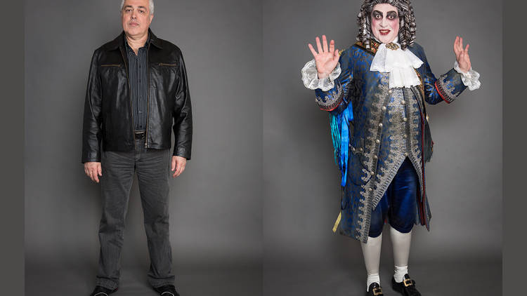Gennadi Dubinsky portrait composite before and after for Opera Australia's Force of Destiny 2013 Behind the Scenes feature shot by Daniel Boud (c) Time Out Sydney EXTENDED
