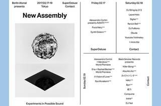 Berlin Atonal New Assembly Tokyo
