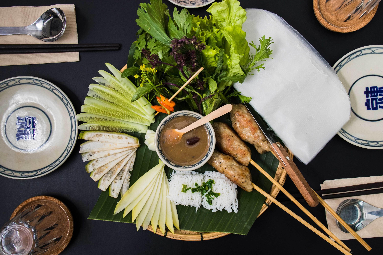 Num neong, vietnamese delicacies at Tonkin Annam