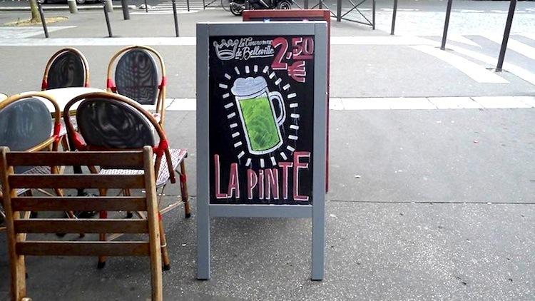 Les bars pas chers à Paris