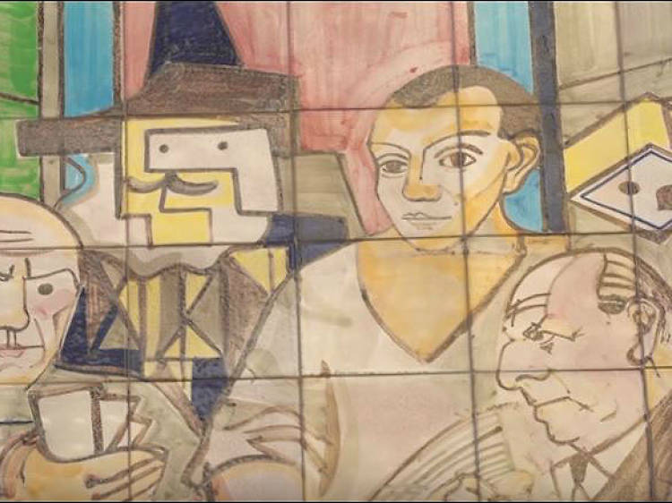 Picasso y Pepe Isbert, vecinos